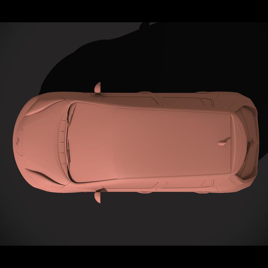 Лист ниссана royalty-free 3d model - Preview no. 11