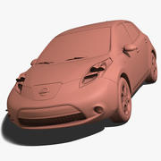 Hoja de Nissan modelo 3d