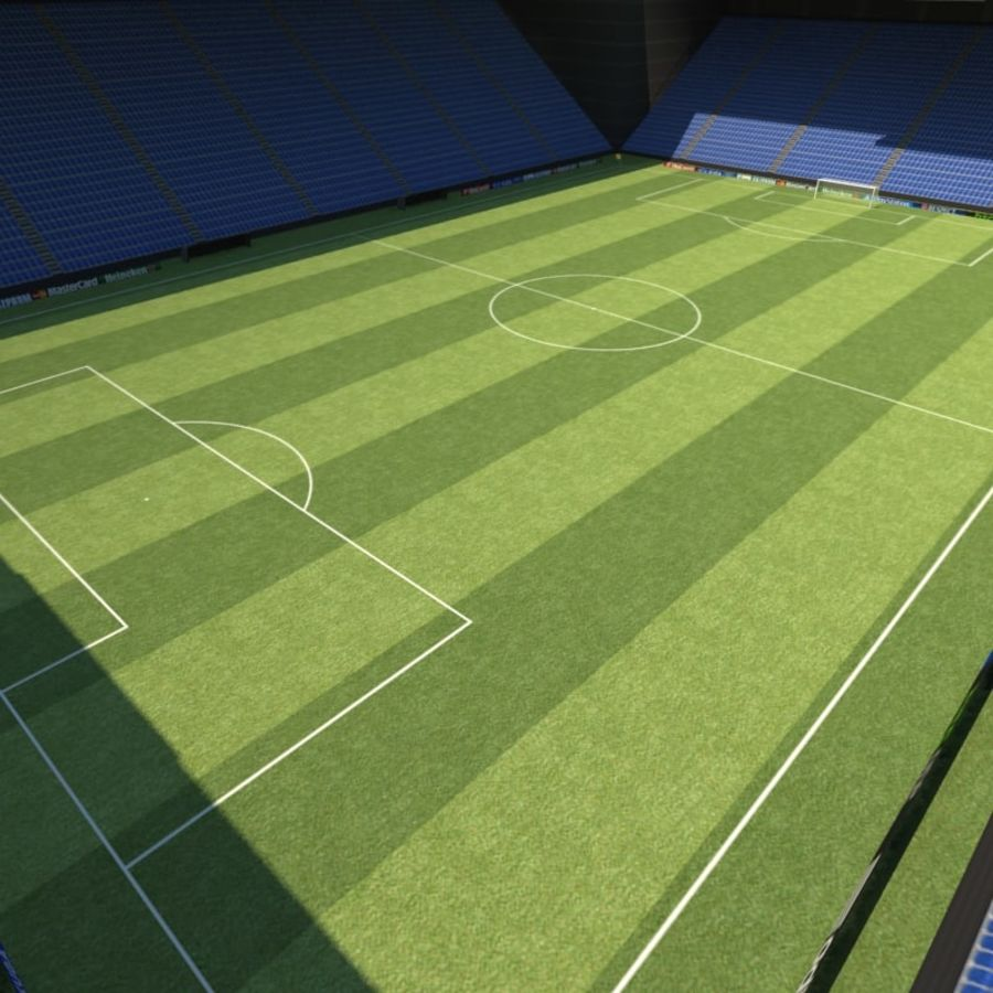 Soccer Stadiums Pack royalty-free 3d model - Preview no. 8