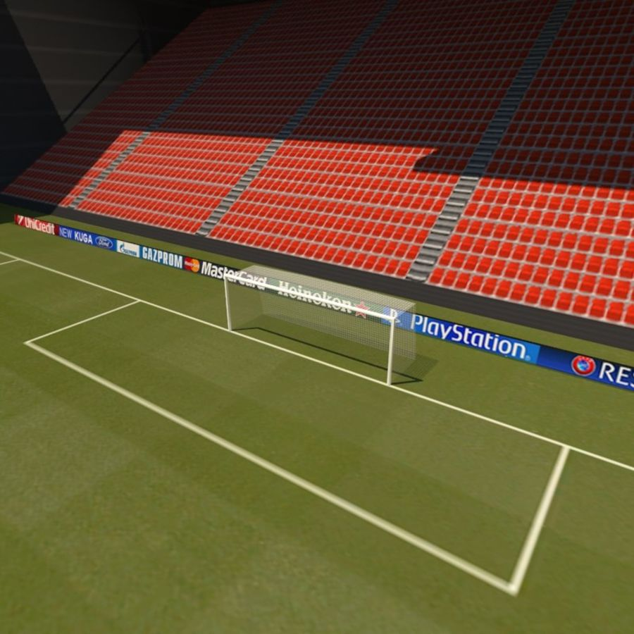 Soccer Stadiums Pack royalty-free 3d model - Preview no. 14