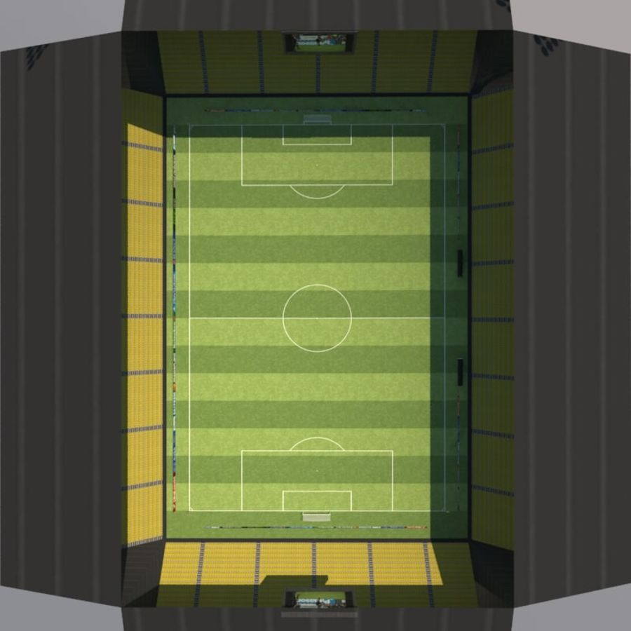 Soccer Stadiums Pack royalty-free 3d model - Preview no. 12