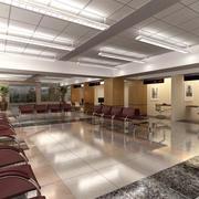 Wartezimmer des Krankenhausadministrators 3d model