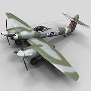 Westland Whirlwind British Fighter 3d model
