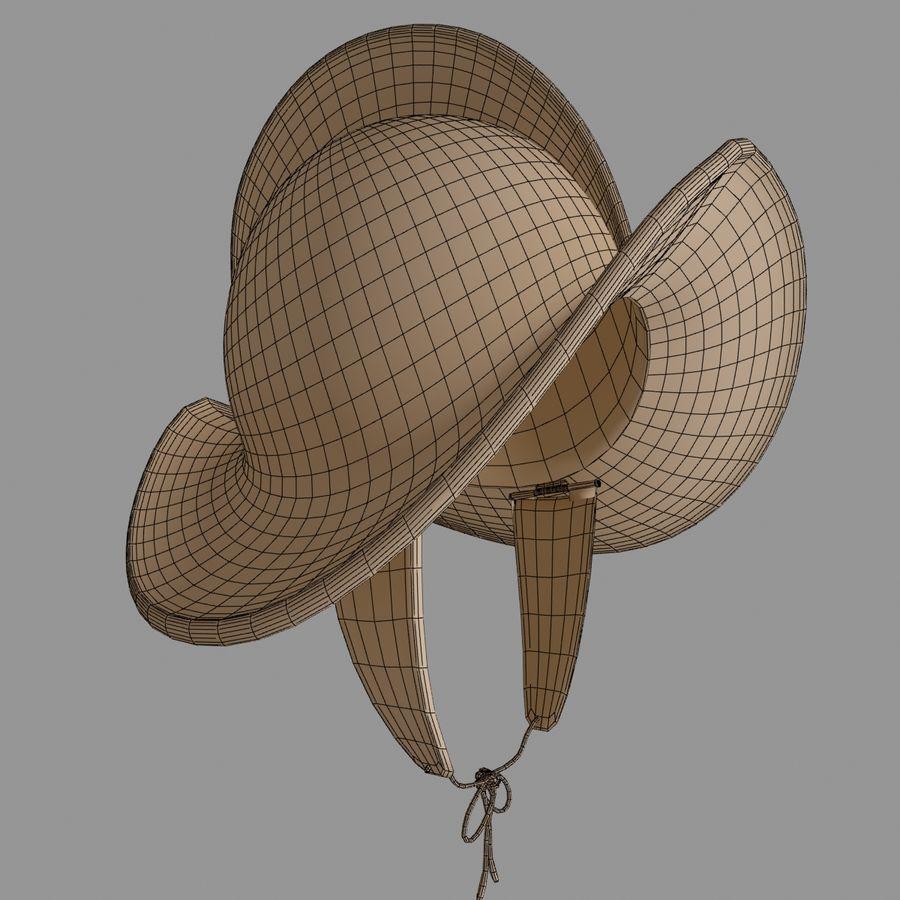 Pettine per casco Morion royalty-free 3d model - Preview no. 7
