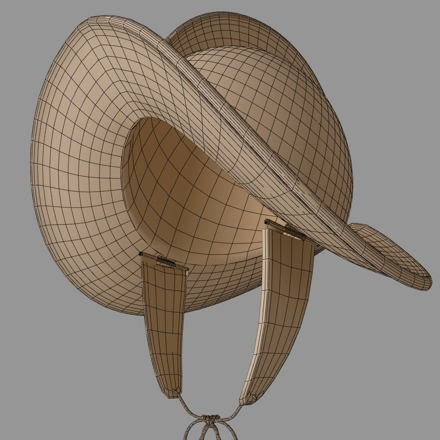 Pettine per casco Morion royalty-free 3d model - Preview no. 8