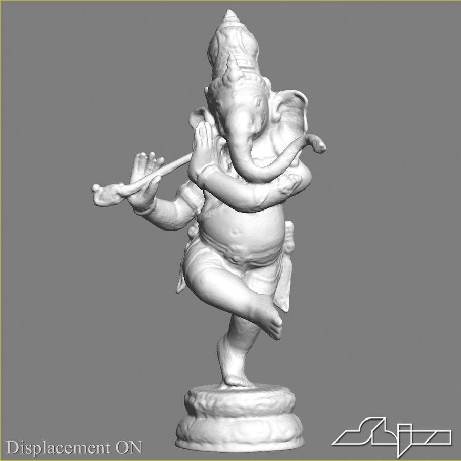 Dans Ganesha royalty-free 3d model - Preview no. 17