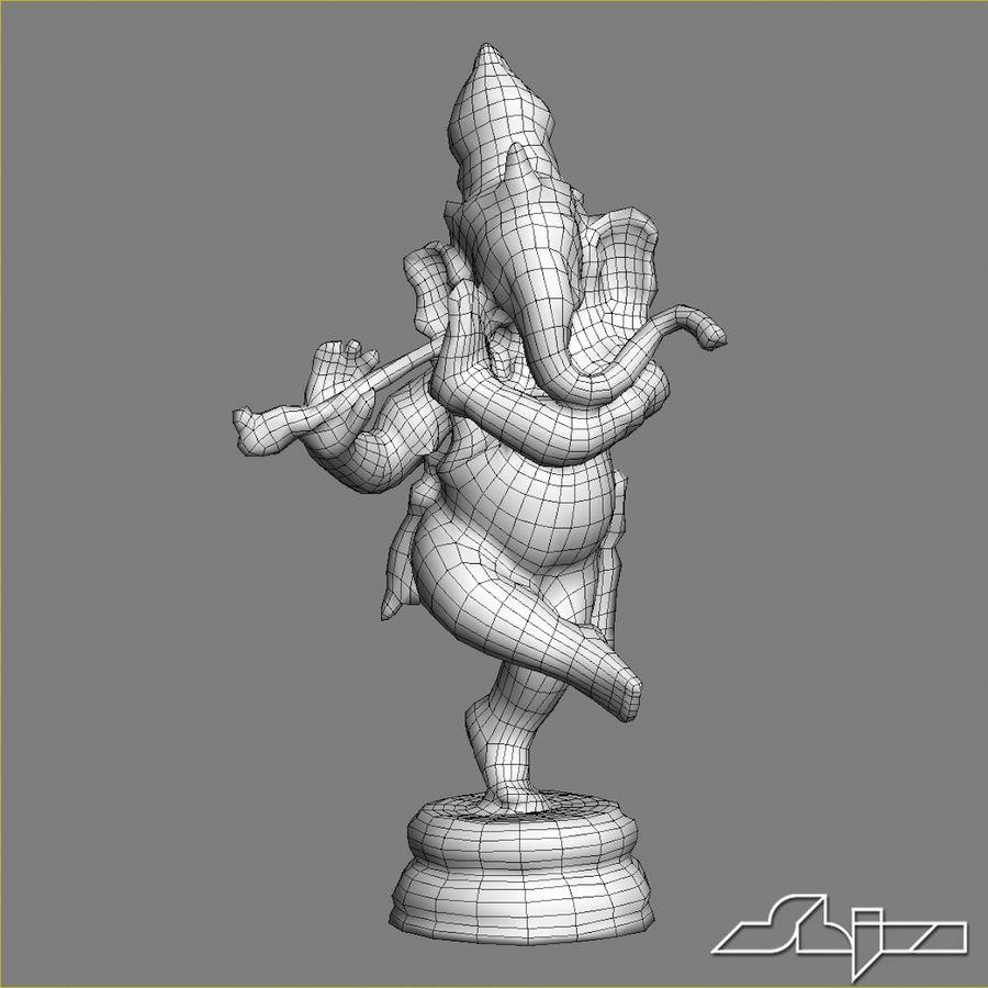 Dans Ganesha royalty-free 3d model - Preview no. 20
