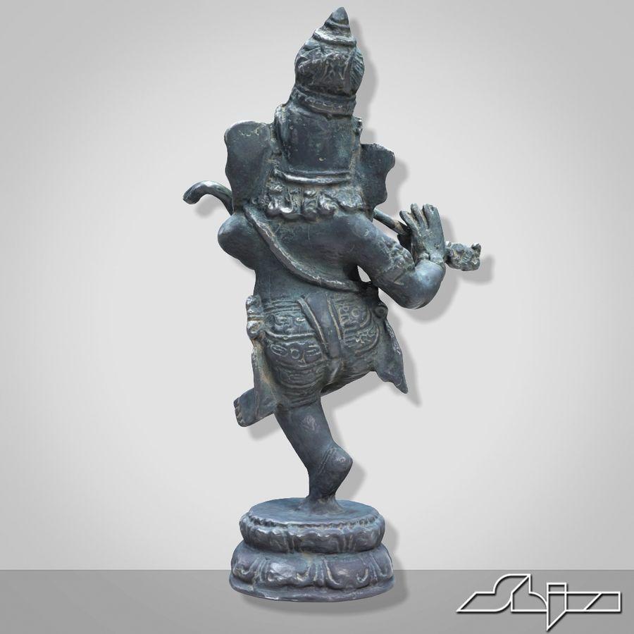 Dans Ganesha royalty-free 3d model - Preview no. 5