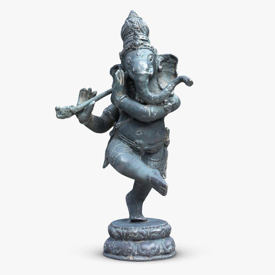 Dans Ganesha royalty-free 3d model - Preview no. 1