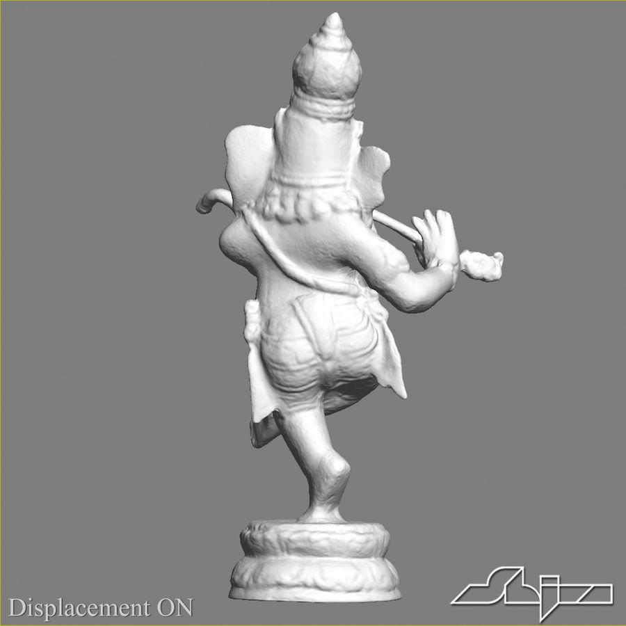 Dans Ganesha royalty-free 3d model - Preview no. 14