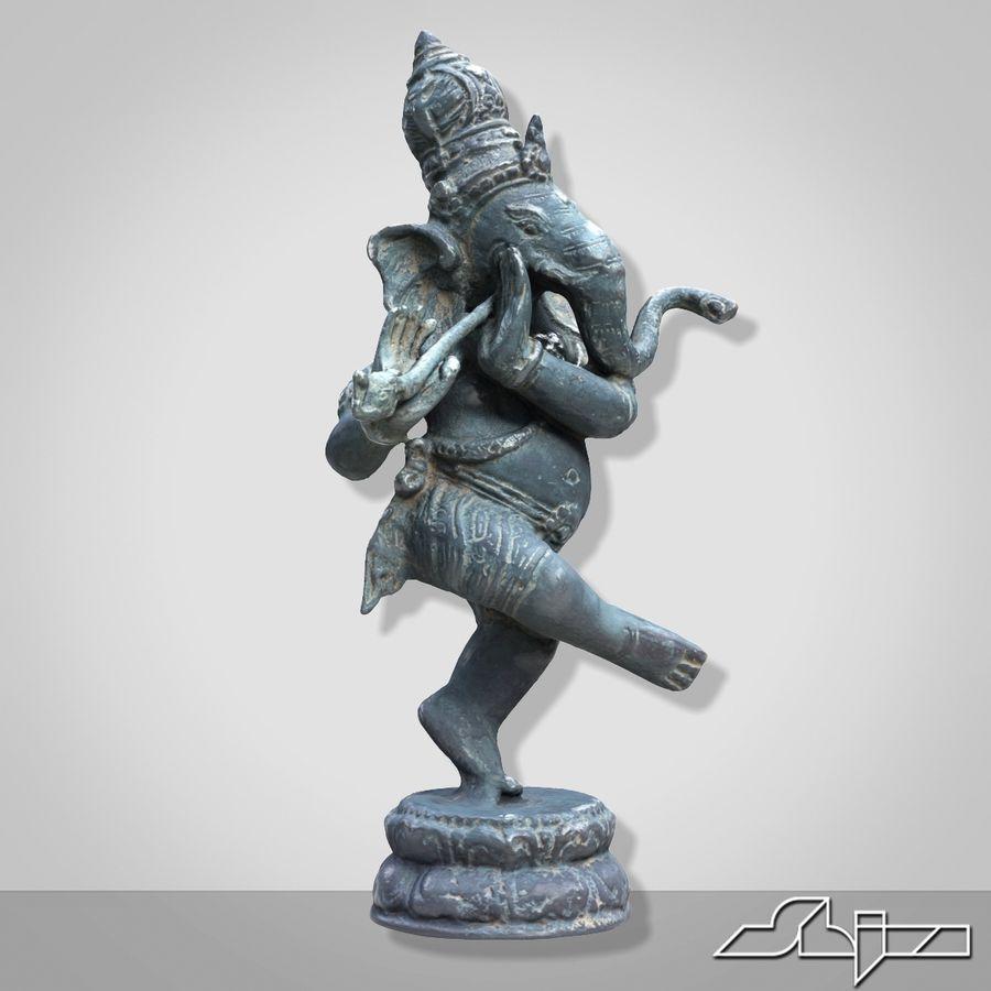 Dans Ganesha royalty-free 3d model - Preview no. 3