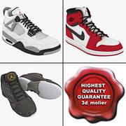 Коллекция Air Jordans 3d model