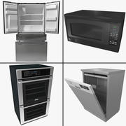 Kitchen Appliance Collection 3d model