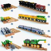 Barn tränar leksakssamling 3d model
