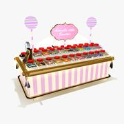 Sweet shop 3d model
