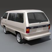 Toyota Van 3d model