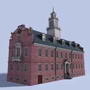 Old State House (Boston) 3d model