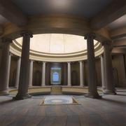 Grand Hall 3d model