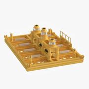 Denizaltı 3 HUB Kızak 3d model