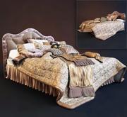 Classic Bedcloth 3d model