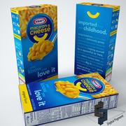 Kraft Mac and Cheese 3d model