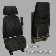 Van Seats 3d model