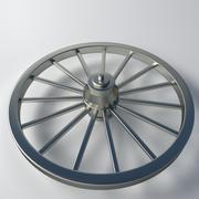 Roue en métal 3d model