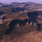 Realistic Terrain for Vue 3d model
