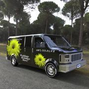 Delivery Van (Poser) 3d model