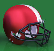Casco da football americano 3d model