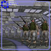 科幻走廊(对于装腔作势者) 3d model