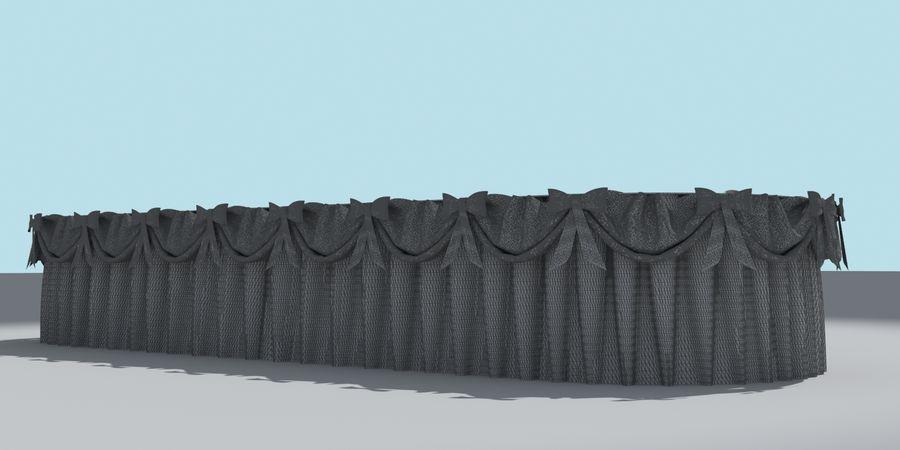 Masa örtüsü royalty-free 3d model - Preview no. 5