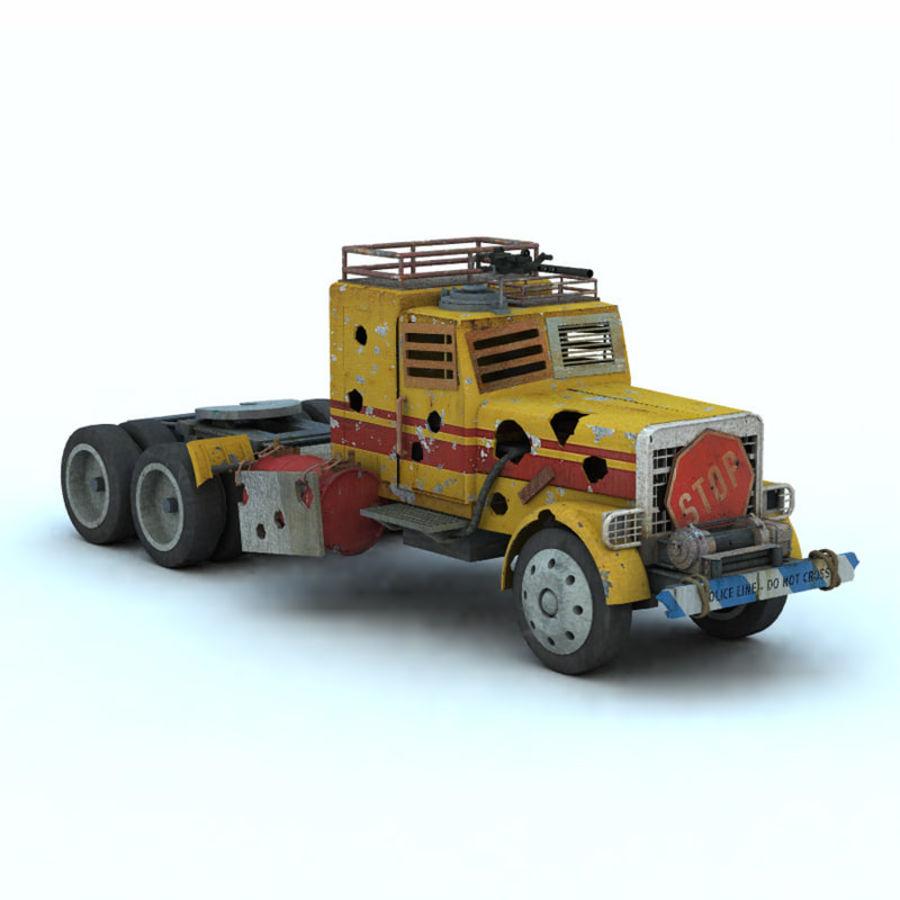 Hells Hauler (Poser/ Vue) royalty-free 3d model - Preview no. 10