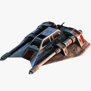 반란군 Snowspeeder 3d model