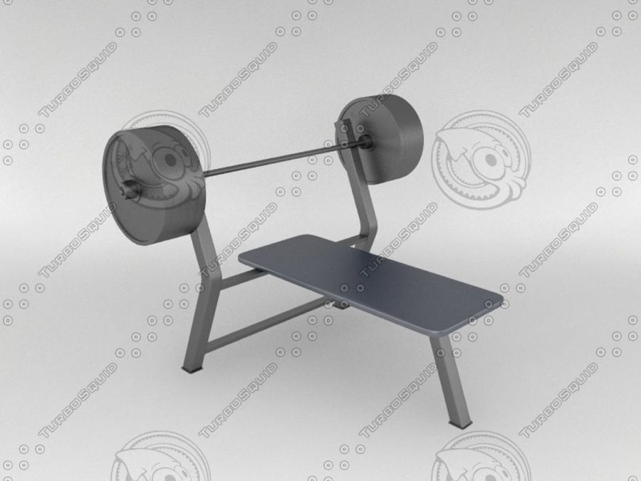Equipaggiamento da palestra royalty-free 3d model - Preview no. 1