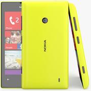 Nokia Lumia 525 Amarelo 3d model