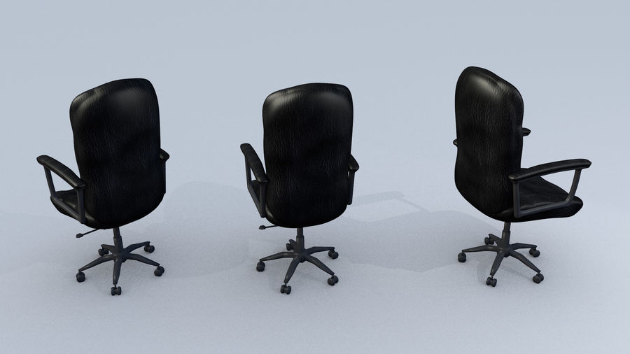 Computer Chair royalty-free 3d model - Preview no. 3