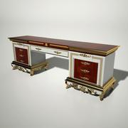 バロック様式のテーブル 3d model