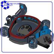 Starship Bridge 8 (for Poser) 3d model