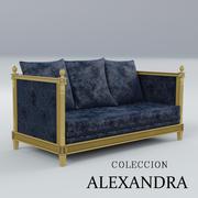 soffa Coleccion Alexandra 3d model