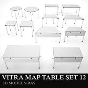 Vitra Map Table 3d model