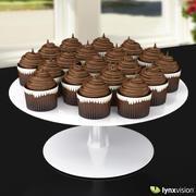 Chocolate Cupcakes 3d model