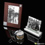 Рамки для фотографий и свечи 3d model