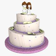 weeding Cake 3d model