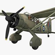 Westland Lysander British WWII Liaison Aircraft 2 3d model