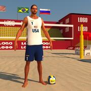 Beach Volleyball Pack 3d model