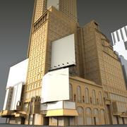 Budowanie kapitału aktorzy Untextured 3d model