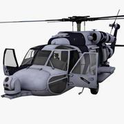 Halcón de rescate HH-60 modelo 3d