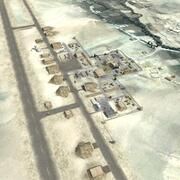 Military Airfield Basic 3d model