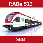 拉贝523 SBB 3d model